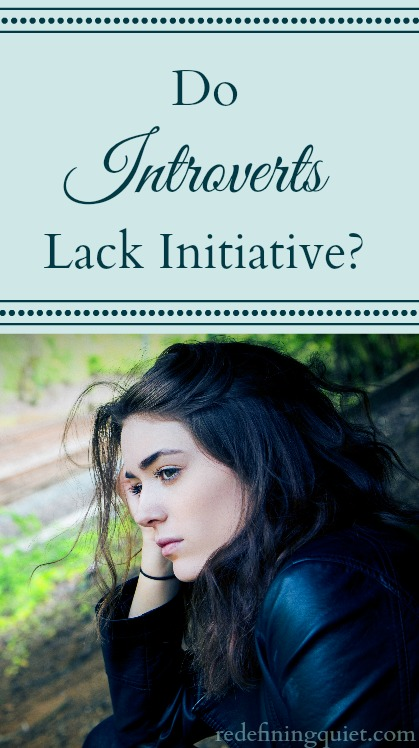 Have you ever felt the pressure to take more initiative or felt like you're not acting quickly enough? A lot of introverts feel this way! But do we really lack initiative, or is that just how it seems to others?